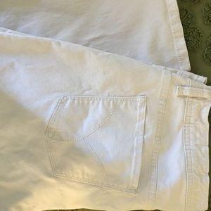 Calvin Klein's crop Jean,